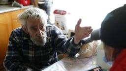 Житель Республики Алтай во время переписи населения в отдаленных регионах России, которая началась в апреле 2021 года. В большей части страны перепись начинается 15 октября