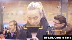 Metroom kroz Moskvu uz kamere za prepoznavanje lica