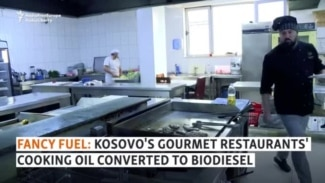 Fancy Fuel: Kosovo's Gourmet Restaurants' Cooking Oil Converted To Biodiesel