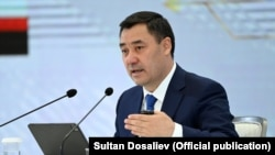 سدیر جباروف رئیس جمهور قرغزستان