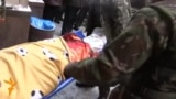 Body Of Killed Ukrainian Protester Leaves Makeshift Hospital