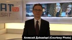 """""""Белсат"""" телеканалынын директорунун орун басары Алексей Дзикавицкий."""