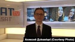 Алексей Дзикавицкий, заместитель директора телеканала «Белсат»