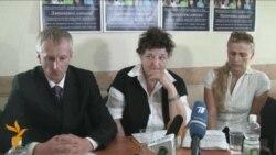 Галіна Сяргеева, маці зьняволенага Глыбоцкай турмы
