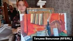 Лиза хочет быть художником