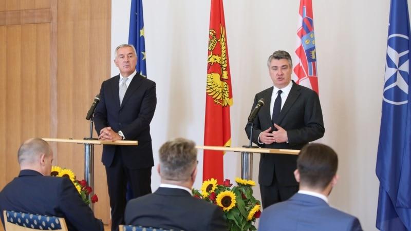 Milanović obećao Đukanoviću: Skrenut ću pozornost Zapada na Crnu Goru