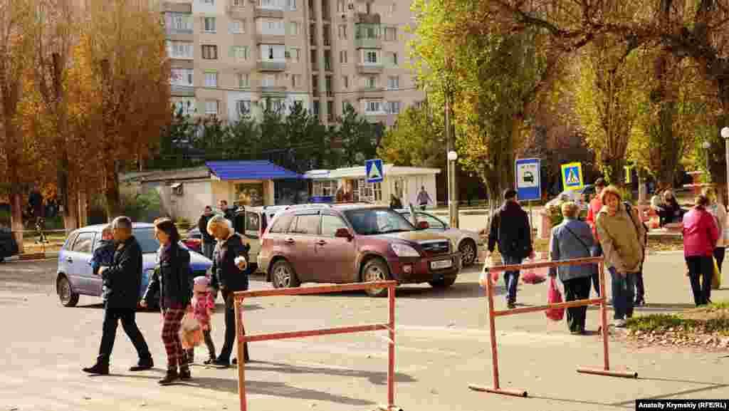 На перехресті вулиць Гайдара і Сопіна