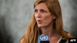 سامانتا پاور، نماینده آمریکا در سازمان ملل متحد گزارشها درباره نصب هزار سانتریفیوژ دیگر در تاسیسات هستهای ایران را نگرانکننده میداند