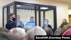 Палітвязьні Кніга, Разьнічэнка, Фурманаў у судзе ў Горадні, 15 траўня 2021 г.