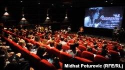 Sarajevo Film festival, projekcija, ilustrativna fotografija