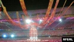 Церемония закрытия Олимпийских игр 2008 года в Пекине. 24 августа 2008