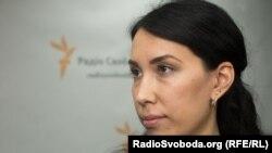 Оппозиционная журналистка из Казахстана Наталья Садыкова.