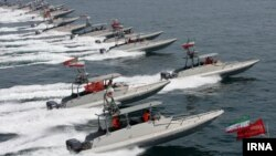 The United States has in the past accused Iranian naval forces of provocations in the Persian Gulf.