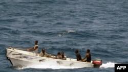 یک قایق دزدان دریایی سومالی