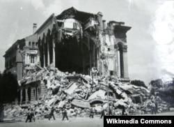 Skoplje nakon zemljotresa 1963. godine