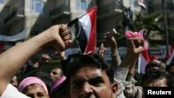 Հակակառավարական ցույց Եմենի մայրաքաղաք Սանաայում, 3 փետրվարի, 2011
