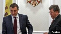 Mihai Ghimpu și Vlad Filat