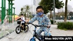 Дети во Въетнаме.
