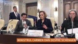 Carmen Dan, contrazisă de secretarul de stat german: Schengen nu e pe agendă