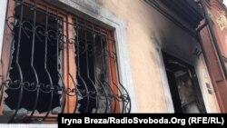 Ujqoroddakı macar etnik mərkəzinə yandırıcı bomba atılıb