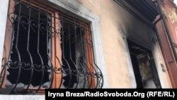 Последствия второго поджога Венгерского культурного центра, произошедшего 27 февраля