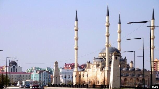 Qroznı şəhəri, Kadyrov prospekti, Aprel 2012