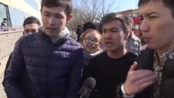 «Вы сказали, это поручение акимата?» Астана, Наурыз, задержания