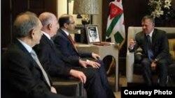 ملك الأردن عبد الله الثاني يستقبل الجبوري والنجيفي والمطلك
