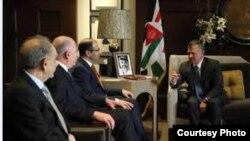 لقاء في عمان جمع عاهل الاردن بالقادة الثلاثة السنة في العراق