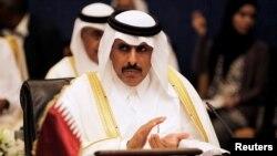 Қатар Марказий банки раиси шайх Абдулла бин Сауд ал Таний.