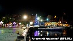 Новогодняя Ялта. 21 декабря 2017 года