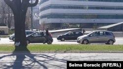 Migrant na sarajevskoj ulici, 17. mart