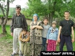 Жители Хатлонской области Таджикистана