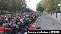 Бишкек. Эски аянт. 24-сентябрь, 2015-жыл