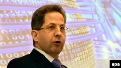 Germany's domestic intelligence chief, Hans-Georg Maassen