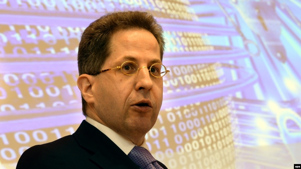 Hans-Georg Maassen, the head of Germany's BfV intelligence agency (file photo).