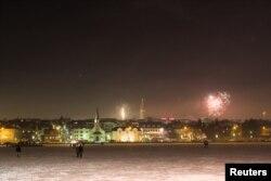 Столиця Ісландії Рейк'явік зустрічає 2018-й