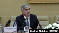 Файзиддин Каххорзода, глава Минфина Таджикистана