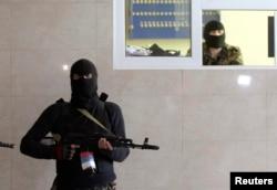Захопленая пракуратура ў Луганску