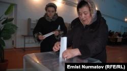 Выборы в городской совет. Ош, 4 марта 2012 года.