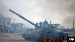 Танк Т-72 в Сирии