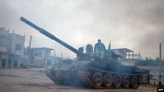 Provincija Idlib blizu granice sa Turskom, februar 2013.