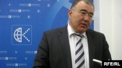 Кәсіпкер Серік Тұржанов, Қазақстан сауда-өнеркәсіп палатасының вице-президенті. Алматы, 3 қаңтар 2009 жыл.