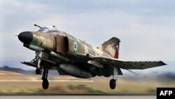 یک جنگنده فانتوم نیروی هوایی اسرائیل