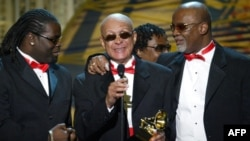 """The Blind Boys of Alabama"" ""გრემის"" დაჯილდოების ცერემონიალზე, 2004 წელი"