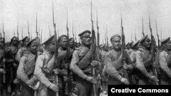 Беренче дөнья сугышында Русия гаскәрләре