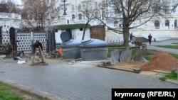 Севастополь, подземные мусорные контейнеры