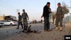 Pjesëtarë të forcave të sigurisë së Afganistanit në provincën Helmand