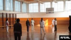 Sallë sporti nëQendrën Korrektuese në Lipjan...