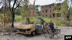 Is the destruction in Slovyansk what awaits Donetsk?